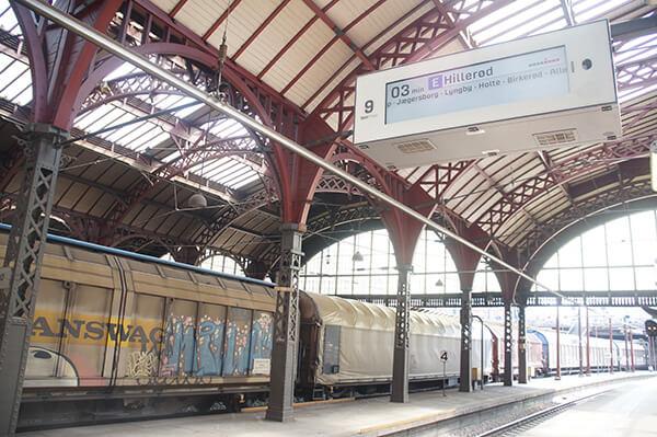 哥本哈根火車站,電子看板