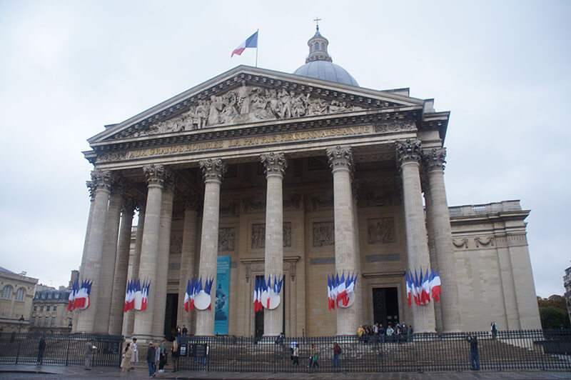 萬神殿,巴黎,先賢祠。比羅馬萬神殿更加細膩精緻。