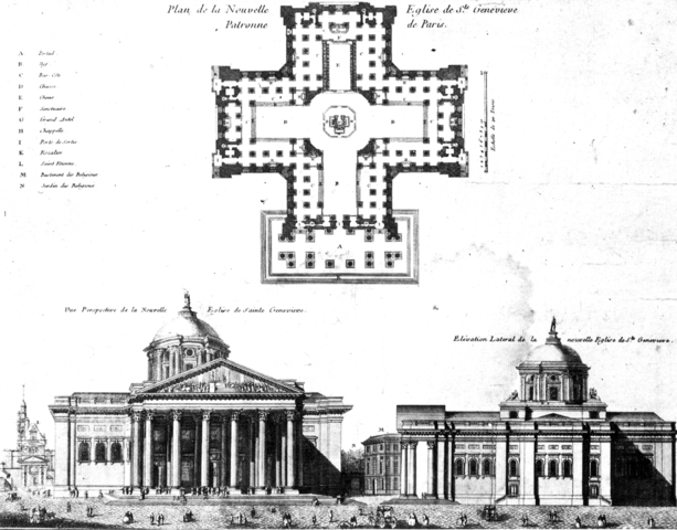 萬神殿最初的設計圖