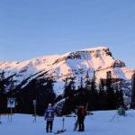 加拿大打工度假滑雪,sunshine village滑雪場,新手雪道分析。
