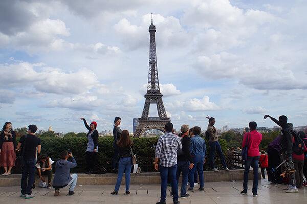 巴黎鐵塔5大拍照點之三,夏佑宮