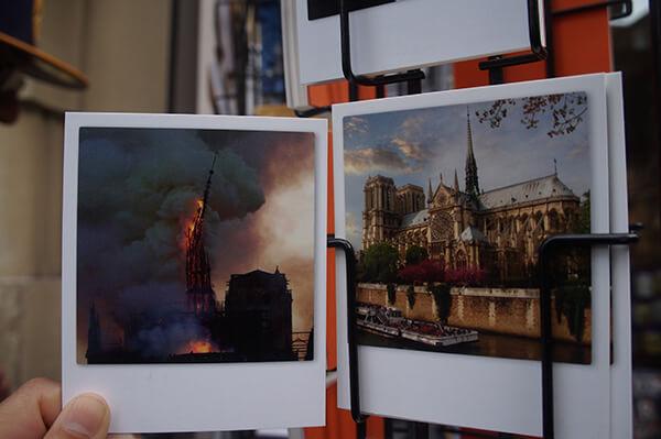 2019年的巴黎聖母院大火,令人惋惜