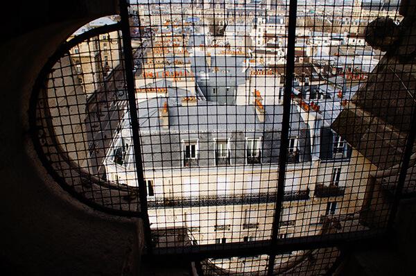 小窗框,巴黎聖母院