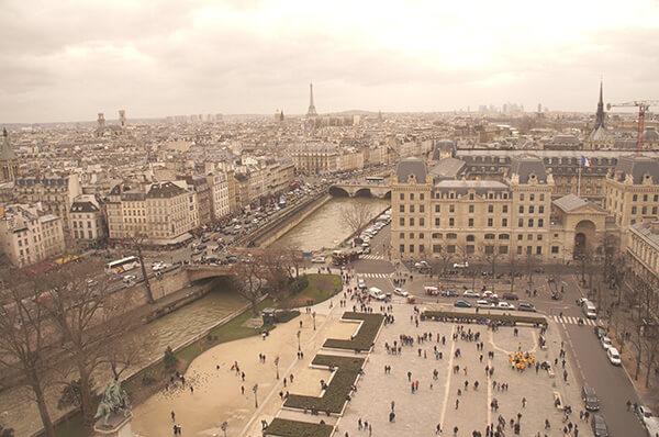 懷舊巴黎街景