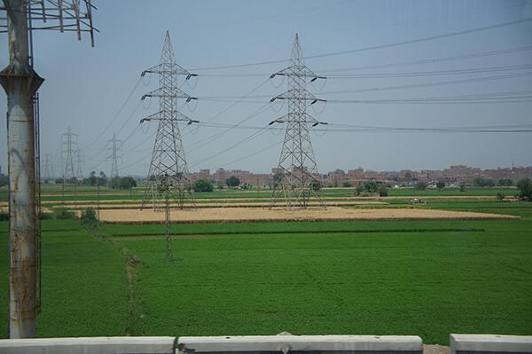 先是出現綠油油的稻田!好鄉村啊~