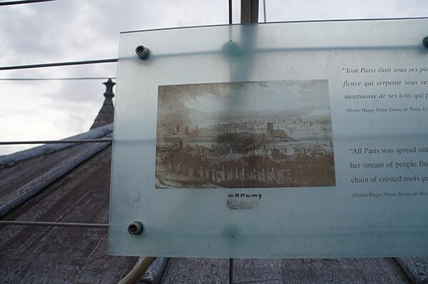 巴黎聖母院塔頂介紹版