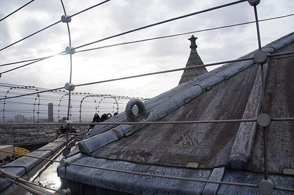 巴黎聖母院塔頂