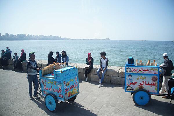 亞歷山大,埃及與歐洲的度假勝地。