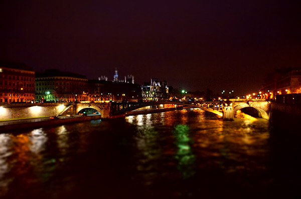 塞納河夜景