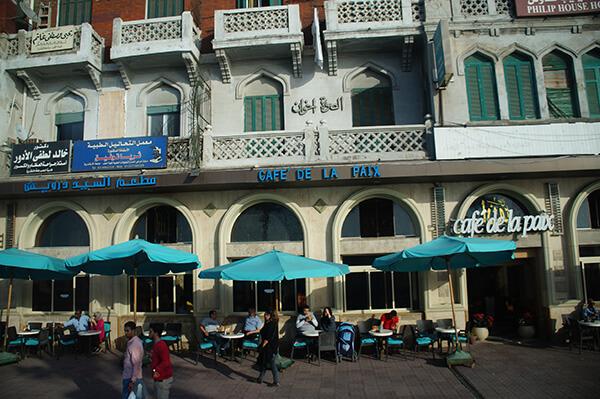 亞歷山大港也有咖啡廳喔!
