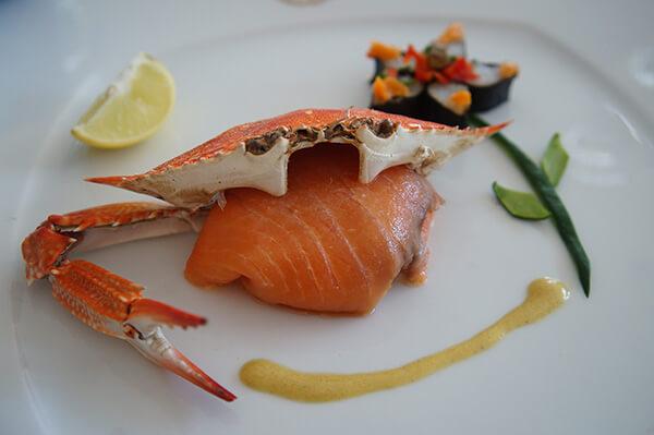 螃蟹跟壽司!!