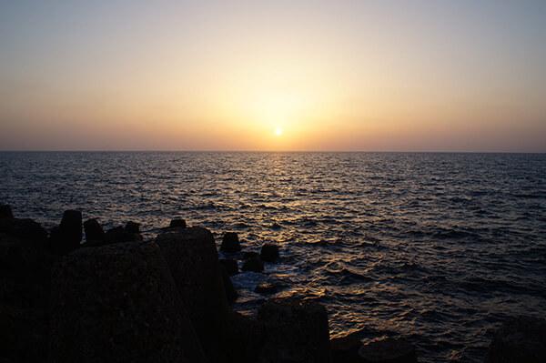 單拍夕陽,此刻是最美的時刻了,可以直視的柔和陽光。