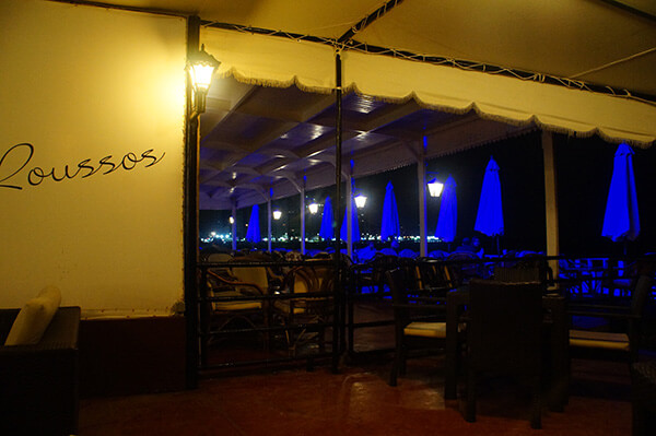 一樣是希爾頓飯店的沙灘海邊餐廳。