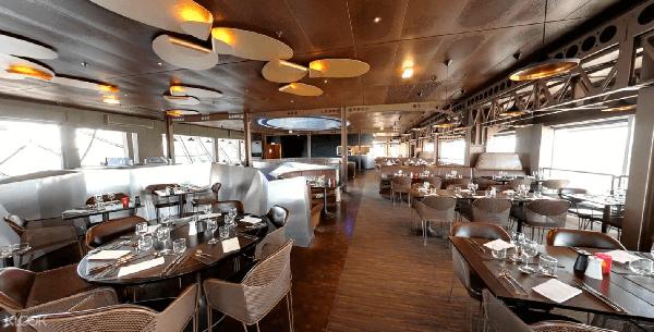 巴黎鐵塔58餐廳內裝