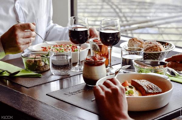巴黎鐵塔58餐廳法式經典料理