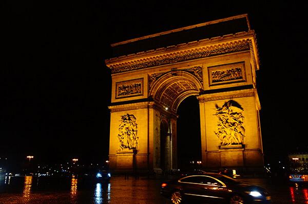 巴黎鐵塔周邊景點,凱旋門