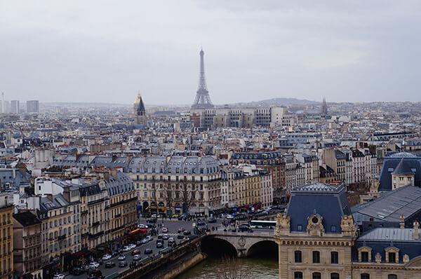 隱藏版的巴黎鐵塔拍照點,巴黎聖母院!