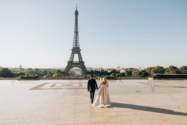 浪漫的巴黎鐵塔