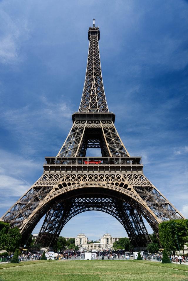 巴黎鐵塔5大拍照點之一,戰神廣場