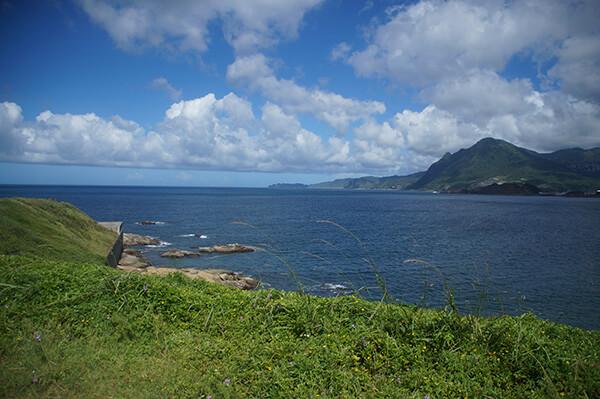 潮境公園山海風景