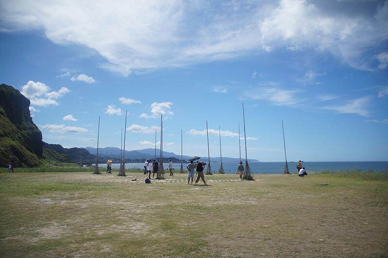 潮境公園裝置藝術。