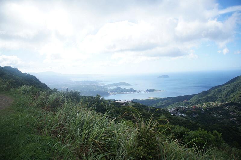 不厭亭途中美麗的山海風景!