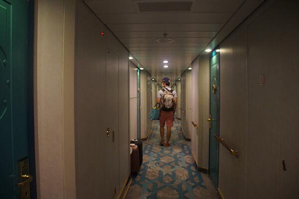 6樓房間走廊,上述3種基本房型應該都在這裡囉!