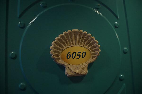 我們的房間號碼很好記!6050!貝殼房號,很別緻。
