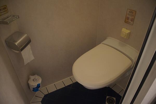 乾淨的廁所。