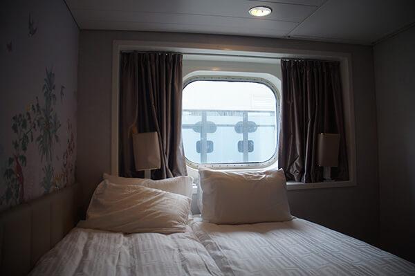 探索夢號海景房,自己併床的成果