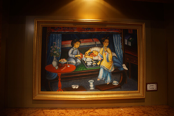 船上的裝飾掛畫