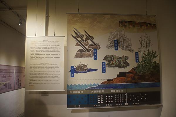馬祖勝利堡內的展覽