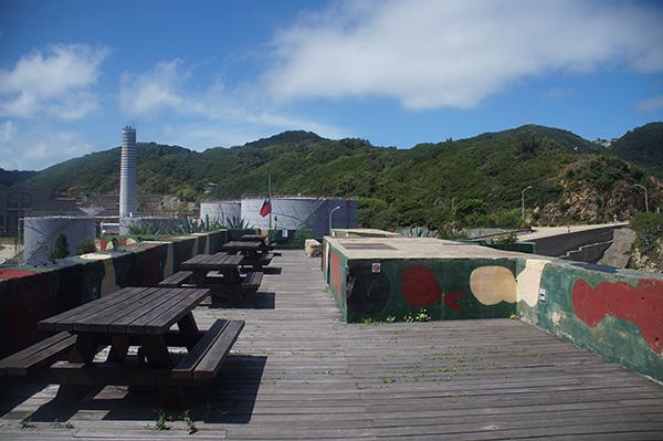 勝利碉堡最上方的觀景平台
