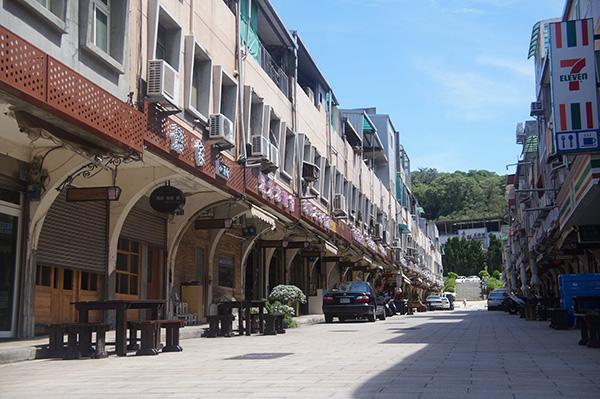 祖區的商店街