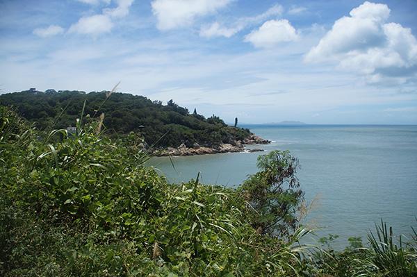 鐵堡附近的風景