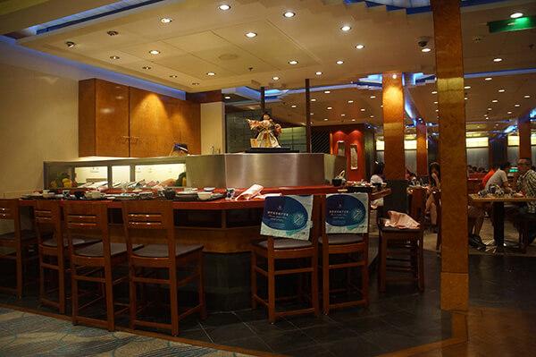 很推薦的船上餐廳【海馬日式料理!】