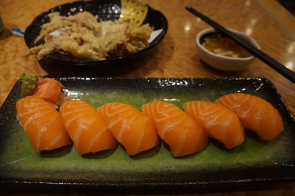 超好吃的鮭魚!!!好好吃!