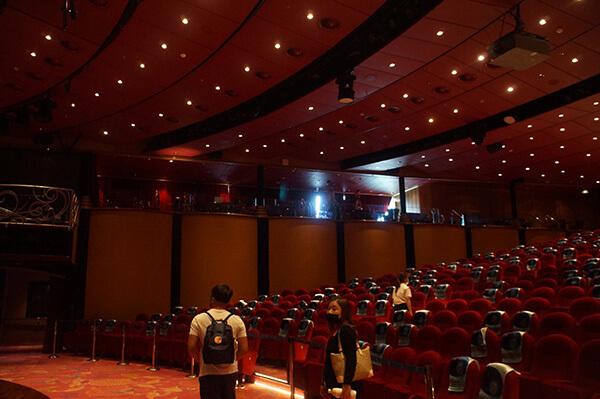 星座劇院2樓座位