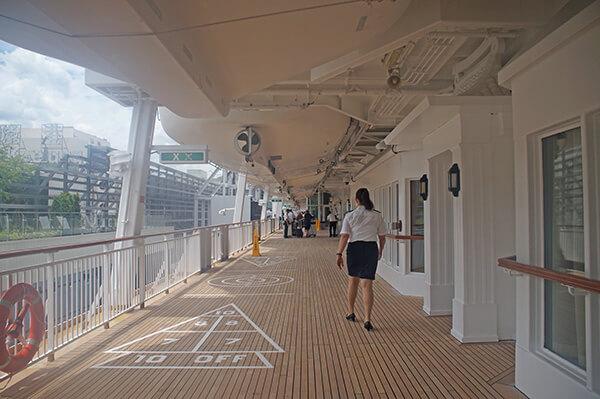 星夢郵輪7樓甲板
