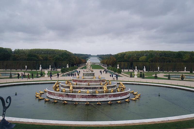 沒特殊活動就能免費參觀的凡爾賽宮花園