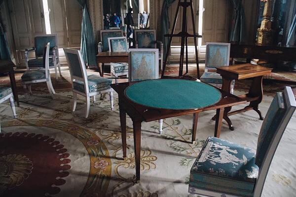 大特里亞農宮,藍色房間。