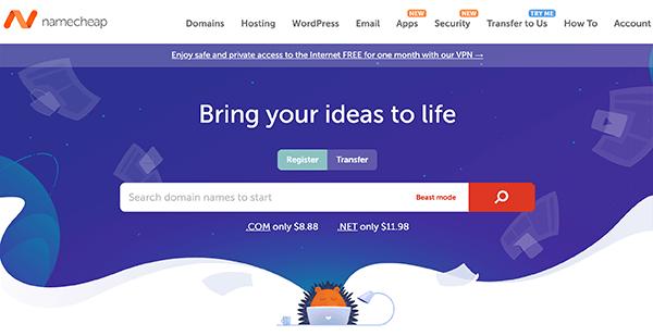 namecheap便宜好用的網域購買網站