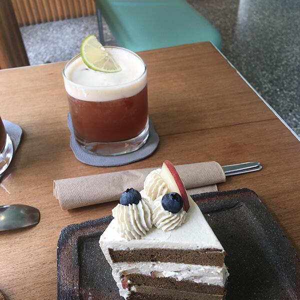 水蜜桃紅茶蛋糕