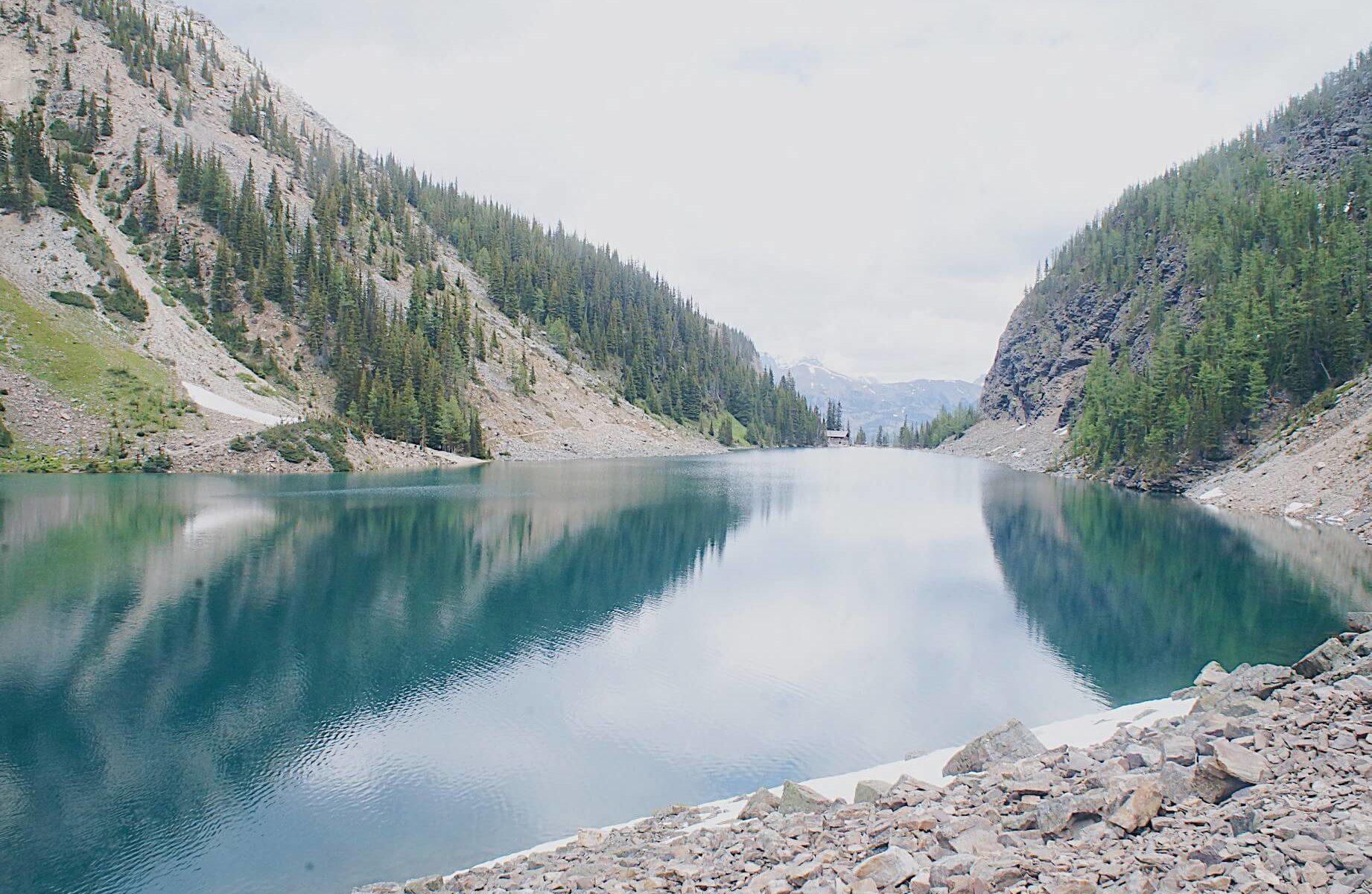 banff lake agnes canada