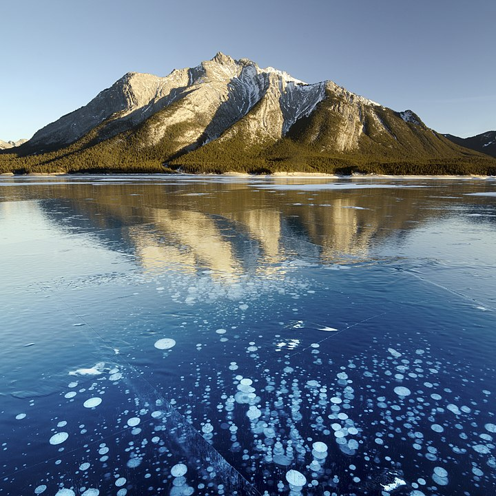 Abraham Lake-bubbles