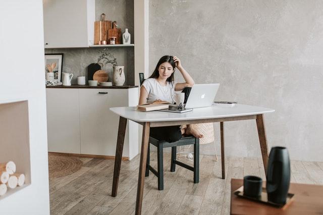 熟練了在家工作寫文章的生活步調
