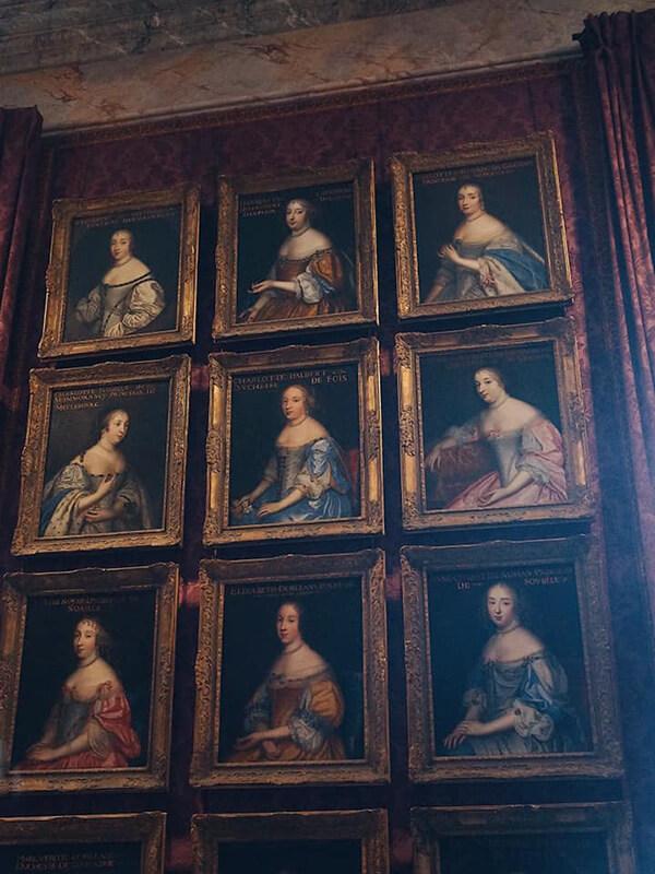 法國美人圖,凡爾賽宮。