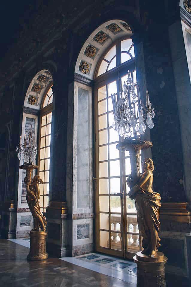 凡爾賽宮華麗的燈柱們!