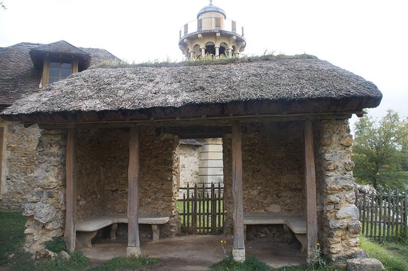 農村房子。