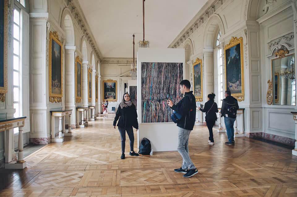 大特里亞農宮的大廳。